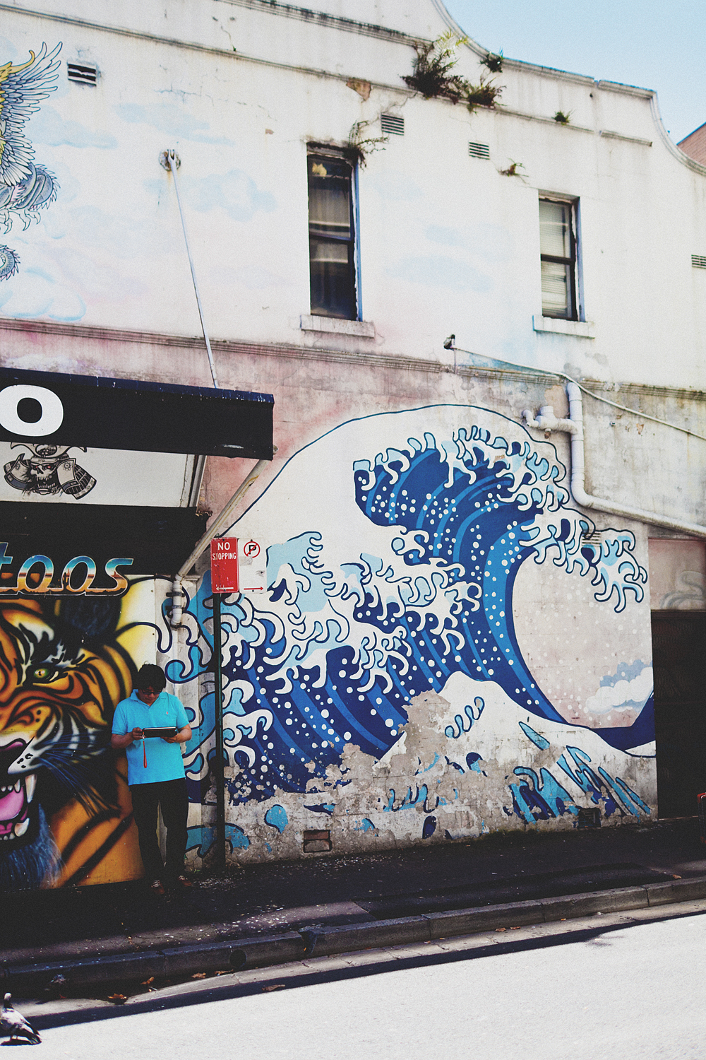 The Great Wave off Kanagawa, Sydny Street Art