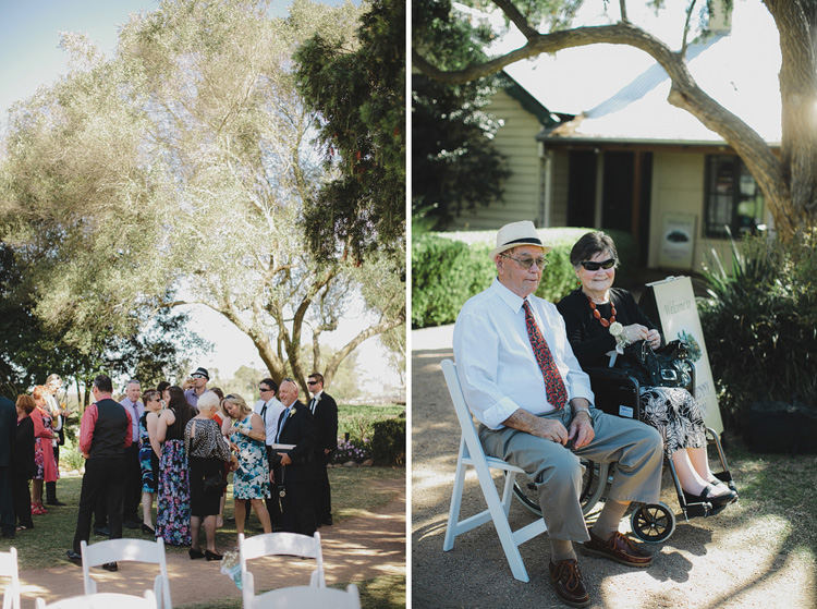 guests at Belgenny Farm Wedding