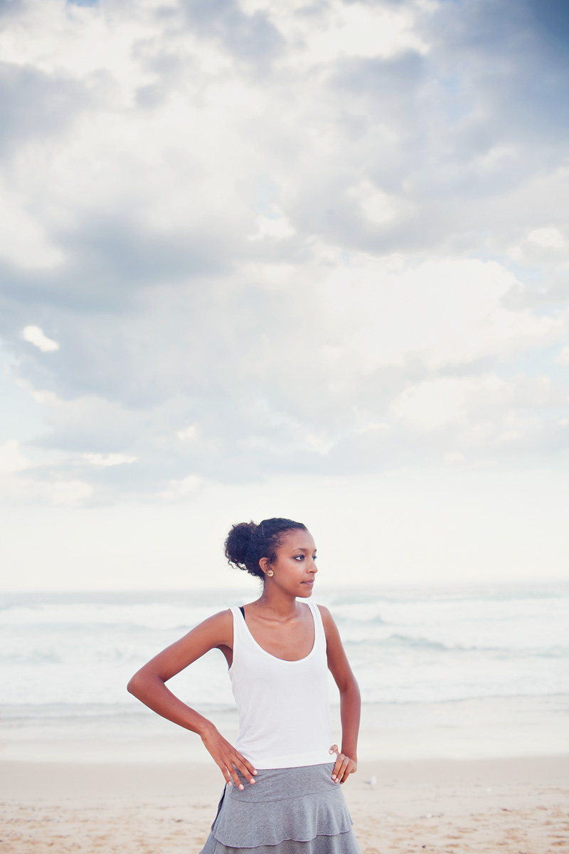Naomi at Bronte Beach, Sydney