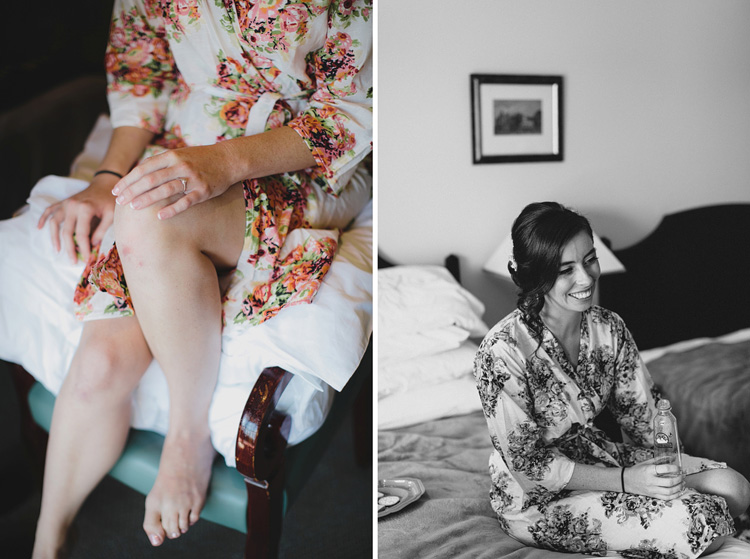 bride kimono bed