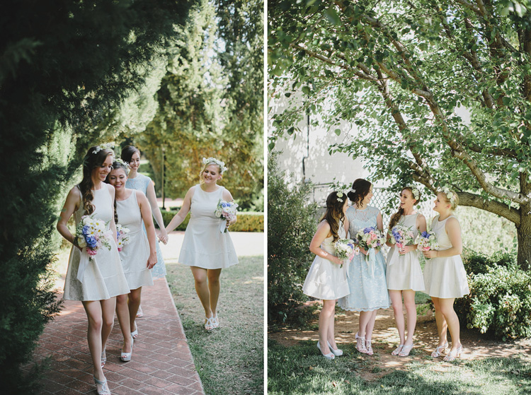 pastel bridesmaid dresses belgenny