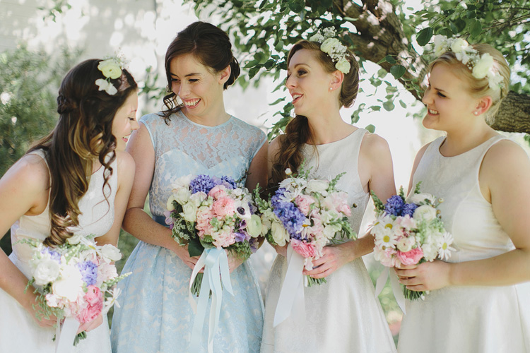 Bridesmaids Belgenny Farm Wedding