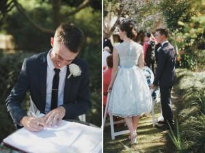 Belgenny Farm Wedding signing