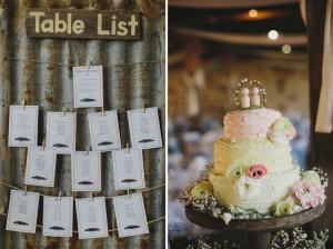 wedding cake table list
