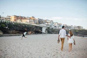 bronte beach engagement session