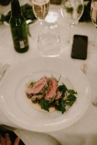 dunbar house wedding meal