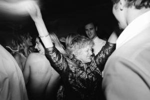 crazy lady wedding dancing