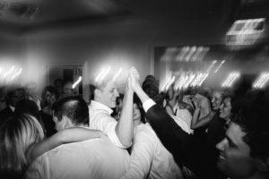 high five on dancefloor