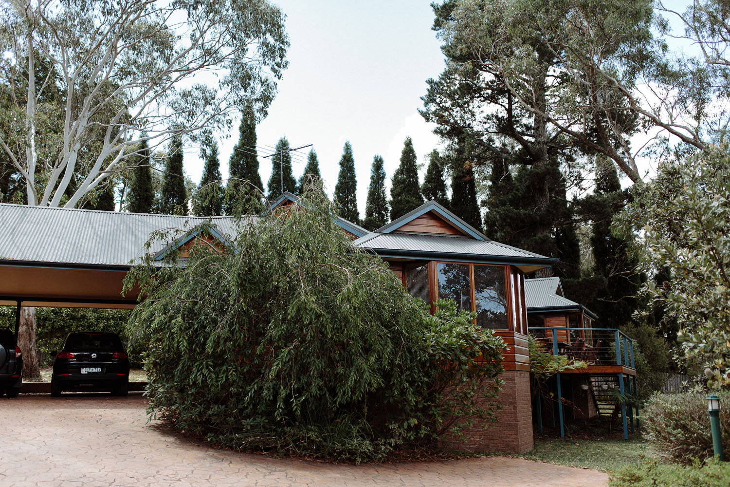 blue mountains wedding resort