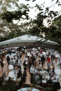 blue mountains wedding marquee guests