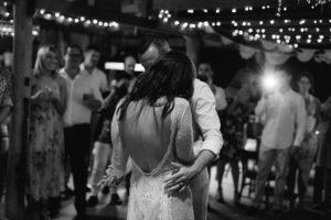 Epic Driftwood Shed wedding