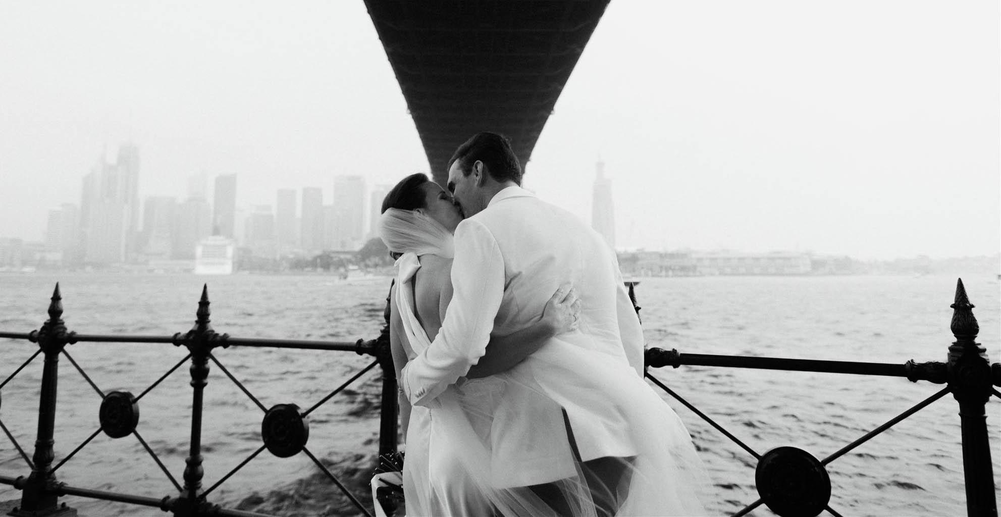 Royal Sydney Yacht Squadron wedding