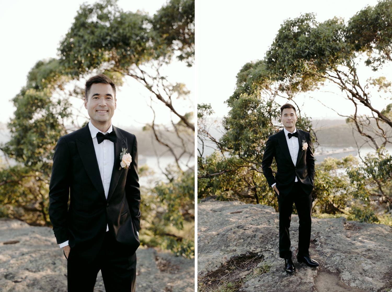 stylish groom attire