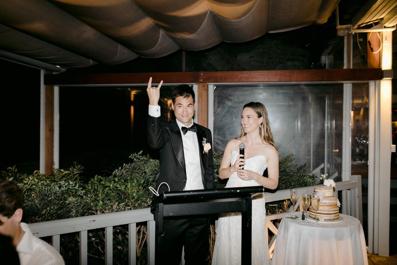 black tie wedding speeches