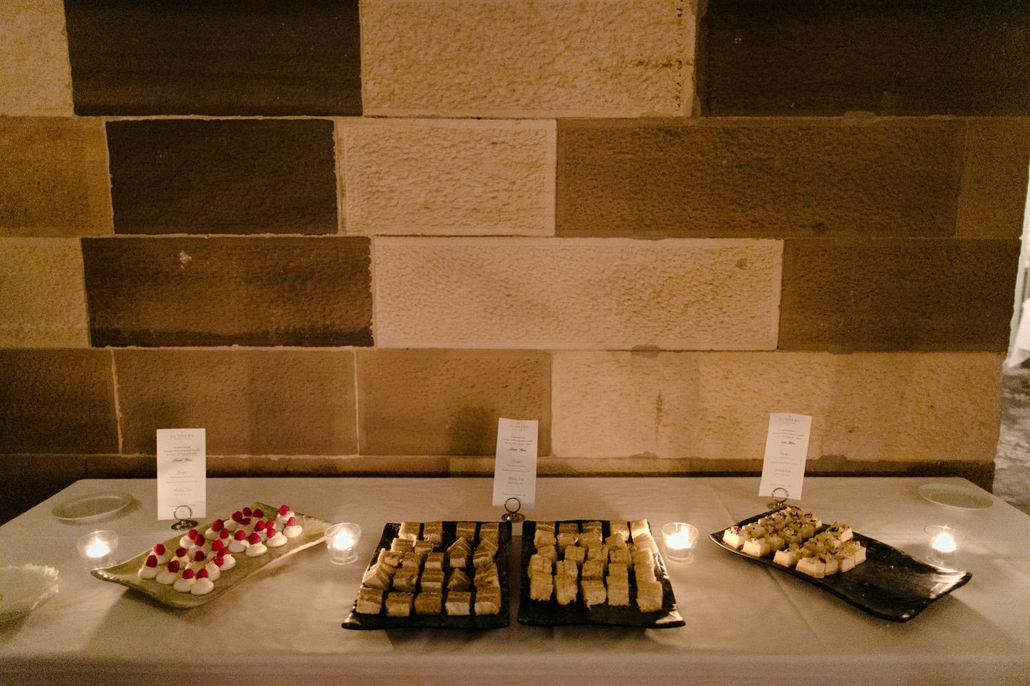 best wedding desserts sydney