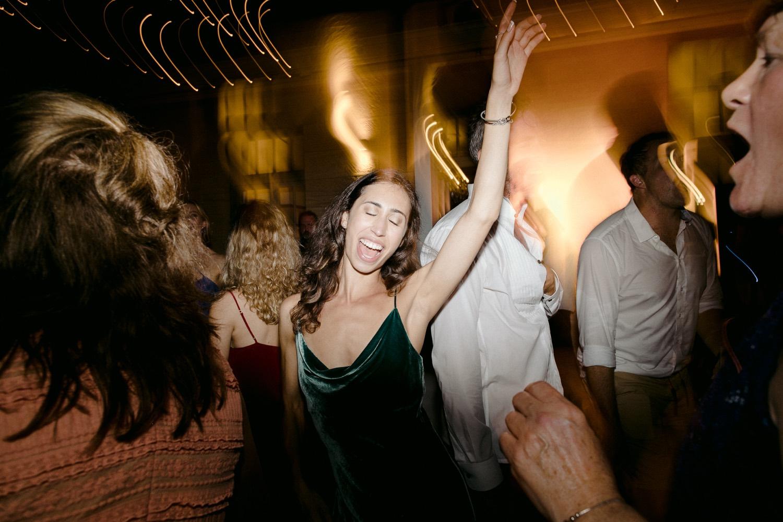 woman dancing on dance floor